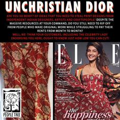 Christian Dior settles plagiarism dispute with Indian design studio People Tree