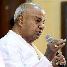Congress insisted on making Kumaraswamy the Karnataka CM, says JD(S) chief HD Deve Gowda