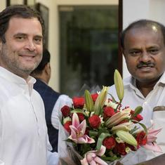 Karnataka: Tussle over portfolios between Congress and JD(S) has kept Cabinet from being formed