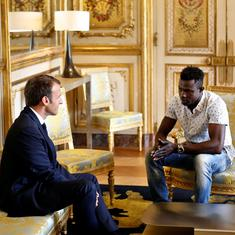 Paris 'Spiderman' shows the superhuman demands placed on migrants to earn citizenship