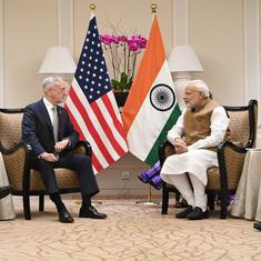 Narendra Modi meets US Defence Secretary James Mattis in Singapore