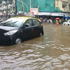 Heavy rain lashes Mumbai, leads to waterlogging in some areas; trains and flights delayed