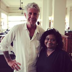 What a meeting with Anthony Bourdain taught an Indian food writer in Sri Lanka