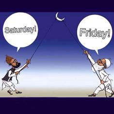 Why do Muslims around the world not agree on which day Eid is?