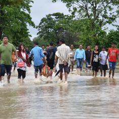 Assam: Five killed in floods, landslides across seven districts