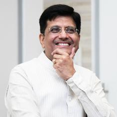 Piyush Goyal says the Asian Infrastructure Investment Bank will infuse $1.4 billion into India