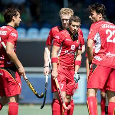 Champions Trophy hockey: Belgium keep medal hopes alive with a 4-2 win over Pakistan