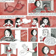Sixteen women talk about (or draw) the elephant in the room in this graphic novel