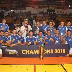 India clinch inaugural Kabaddi Masters title with convincing 44-26 win over Iran in final