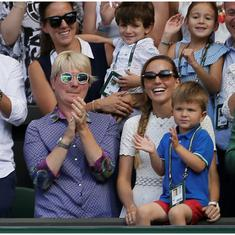 Watch: Djokovic says having his son see him lift the Wimbledon trophy made it extra special