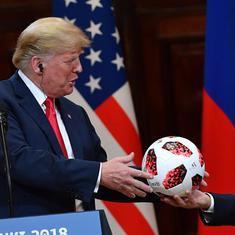 Disgraceful, treasonous: US media, politicians pull no punches to slam Trump-Putin meet