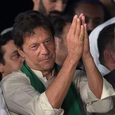 Imran Khan would be Pakistan army's second choice, says ex Indian envoy. The first? A hung assembly
