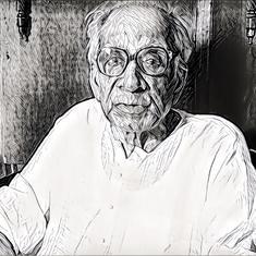 'India': A short story by the Bengali writer Ramapada Chowdhury (1922-2018) who died at 95