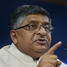 'Social media sites should find technological solutions to curb fake news,' says Ravi Shankar Prasad