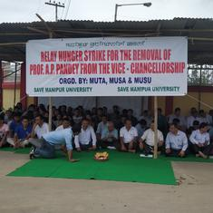 Manipur University protests: Deputy chief minister urges demonstrators to restore normalcy