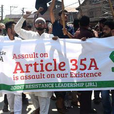 Supreme Court hearings on Article 35A come at crucial juncture for Kashmir politics