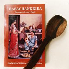 In a 75-year-old Chitrapur Saraswat cookbook, you can see food influences from across India