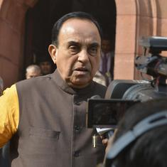 Centre distances itself from Subramanian Swamy's suggestion to invade Maldives if polls are rigged