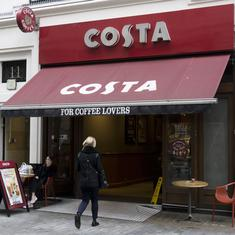 British firm Whithead Plc to sell Costa Coffee to Coca Cola for £3.9 billion