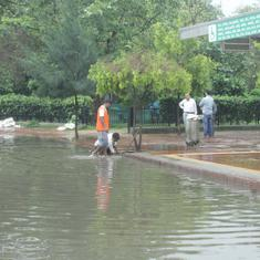 Delhi: Heavy rain brings relief to national Capital, more expected over next two days