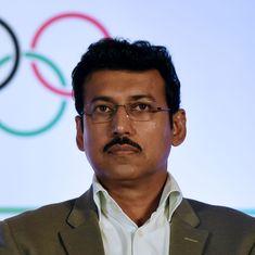 Journey towards 2020 Olympics starts now, says Sports Minister Rajyavardhan Singh Rathore