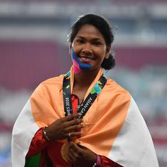 Could have logged more points if not for injury, says Heptathlon gold medallist Swapna Barman