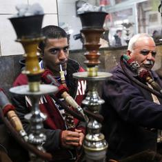 Are shishas harder to quit than cigarettes?