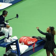 Serena's outburst in US Open final was wrong despite double standard in tennis: Navratilova