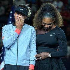 Nerves, not Serena's outburst: Osaka blames US Open tears on her 'notorious' awkwardness
