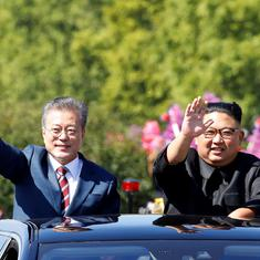 At Korea summit, Kim Jong-un says he expects further progress in talks with US