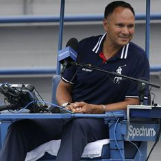 US Open: Umpire Mohamed Lahyani suspended over Kyrgios pep talk controversy, say reports