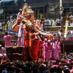 In photos: Devotees bid adieu to Ganesh across the country