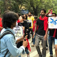 On first anniversary of Banaras Hindu University protests, ABVP workers assault students, journalist