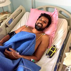 'Survived because of my sailing skills': Naval commander Tomy admitted to hospital in Amsterdam Isle