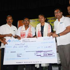 Rs 3 cr in Haryana, 10 lakh in Bengal: The disparity in state cash prizes for Asiad medallists