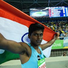 Asian Para Games: Rio gold medallist Mariyappan to be India's flag-bearer