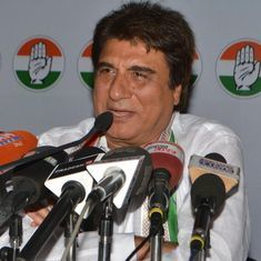 Raj Babbar compares decline of rupee to age of Narendra Modi's mother, BJP demands apology