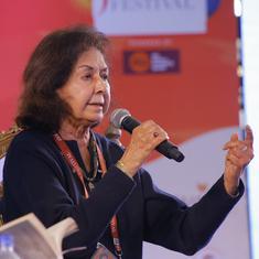 Nayantara Sahgal invitation was withdrawn for fear of losing BJP minister as patron, says organiser