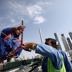 For migrant workers who return to India, there are few jobs and almost no rehabilitation systems