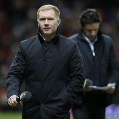 Manchester United great Paul Scholes charged by English FA for betting offences