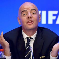 Football: Gianni Infantino re-elected as Fifa president for second term