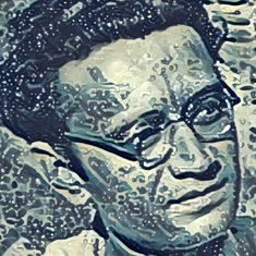 The war between Saadat Hasan the person and Manto the writer was written by Saadat Hasan Manto