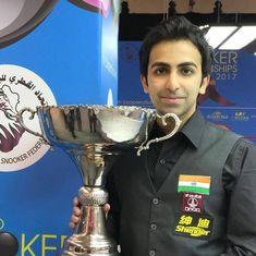 Pankaj Advani bags 23rd world title after winning World Team Snooker event with Aditya Mehta