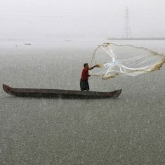 A simple handheld device could save the lives of Indian fisherfolk at sea